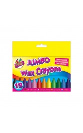 12 Jumbo Crayons