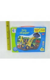 Big Digger ,Shaped Floor Puzzle