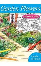 Doodle Art-Garden Flowers