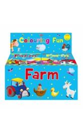 Farm Colouring Display