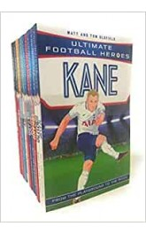 Ultimate Football Heroes 10 books collection