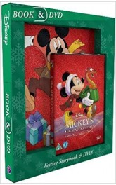 Disney Magical Christmas ,Book and DVD
