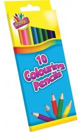 10 Colouring pencils