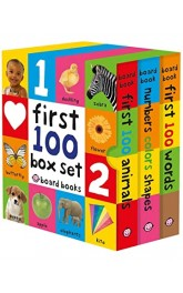 Lift&Learn Colours,word, number&animals board books 24 display box