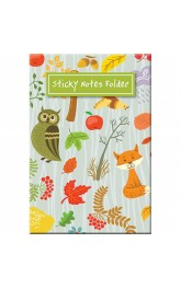 Sticky Notes Folder-Woodland