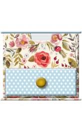 Memo Cube,Vintage Blooms