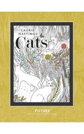 Cats ,Art to Collect and Colour