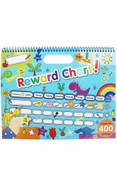 Reward Chart,Includes over 400 stickers