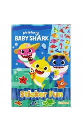 Baby Shark,Sticker Fun