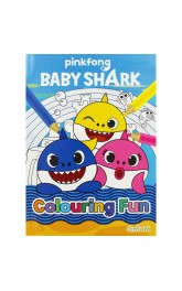 Baby Shark,Colouring Fun