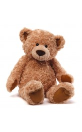 32''Large Bear -2 colours brown/cream
