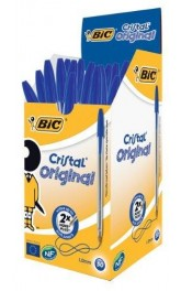 BIC Cristal Orginal ,Blue,50 in box