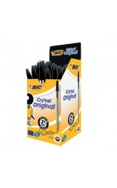 BIC Cristal Orginal, Black,50 in box