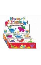 Dinosaur Friends 6 early  learning books, 24 in box ,price for each