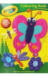 Crayola Colouring Book -Butterfly