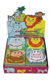 Eddie the Elephant and friends ,Jungle Animal Books, 24 in box ,price for each.