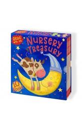 Nursery Treasury 10 books set ,Read with me, Miles Kelly