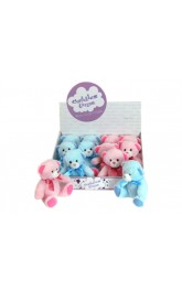 "6"" Pink and Blue Bears"