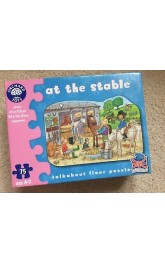 At the Stable ,Shaped Floor Puzzle