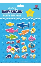 Baby Shark- Puffy Stickers