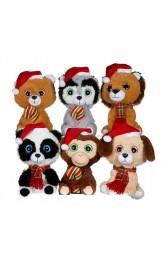 10''Christmas Plush Toys mixed
