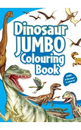 Dinosaur Jumbo Colouring Book