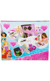 DISNEY PRINCESS SCRATCH, STENCIL & STICKER SET