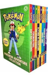 Pokemon Adventures 8 books collection