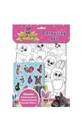 Bush Baby World-Colouring set