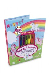 Let's Create! Sparkly Unicorns