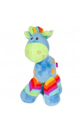 10'' Cormical Horse pink/yellow/blue