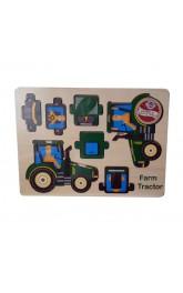 Wood 3D Puzzle-Farm