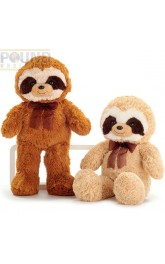 13.5'' Plush Sloth 2 assorted