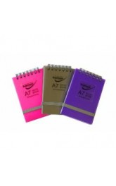 A6 Spiral Notebook Supreme Classic 80 Ruled Sheets